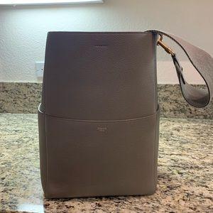 Celine Sangle Handbag, Bucket Bag, Authentic
